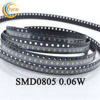 SMD 0805 led led diodo per led per luce a striscia LED Spotlight Indoor Bulb Red / Yellow / Blue / Green / White / Warm white