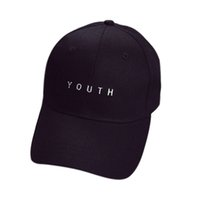 Wholesale Leather Snapback Design - 2017 Newly Design Embroidery YOUTH Letter Summer Hat Causual Snapback best Baseball Caps 160310 Drop Shipping