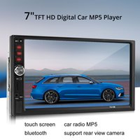 7012B 7 polegadas Bluetooth TFT Screen Car Audio Stereo MP5 Player 12V Auto 2-Din Suporte AUX FM USB SD MMC CMO_20N