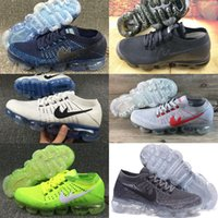 Wholesale Weave Baby Shoes - New 2018 Comme Mesh Fashion Weaving Shoes Vapormax Top-Quality Weightlight Baby Kids Athletic shoes