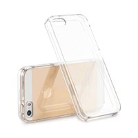 Wholesale Hard Case For Iphone5 - Hard Crystal Clear Phone Case for iPhone5 iPhone 5S SE 5 Ultra SlimThin PC Cover for iPhone5S