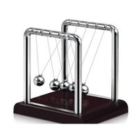 Wholesale Educational Science - Classic Newtons Cradle Kinetic Balls Executive Educational Toy Office Desktop Gadget