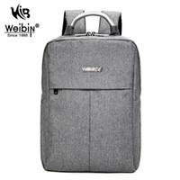 Wholesale Laptop Shoulder Bag 16 - Wholesale- AOU Square Backpack Oxford Cloth Bag Unique Design Laptop Backpack 14 15.6 16 Inch Men Travel Bag Business Shoulder Bags