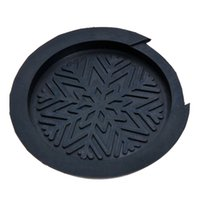 Wholesale 38 Acoustic Guitar - Soundhole Cover Block Plug For Acoustic Dolk Guitar Parts 38'' 39'' Rubber Black