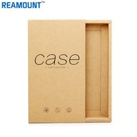 50pcs Kraft Drawer Paper Box Gift pour téléphone portable Case Package téléphone Shell BOX packing box for iPhone7 / 7p Retail Packaging