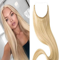 Fishing line hair extensions uk free uk delivery on fishing line cheap mongolian hair flip in hair best straight under 100 halo hair extension pmusecretfo Image collections