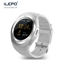 Wholesale Watch Tracker Online - bluetooth watch phone online smart watch low price connect to Whatsapp facebook skype 280mAh 7 days long standby