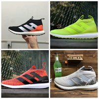 Wholesale Clear Plastic Men Shoe Box - 2017 With Box Men and Women ACE 16+ Pure Control Ultra Boost Flamingos Ultra Boost Triple White BY1600 Running Shoes Boost Sneakers Boosts