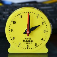 Wholesale Digital Table Design - art mute desk clock Personalized Tricolor Book Table Clock Modern Design Table Clock Home Decoration free shipping