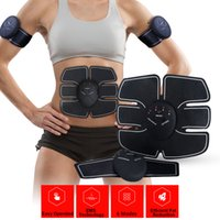 Wholesale Gear Machines - Abdominal Muscle Toner Body Toning Fitness Training Gear Abs Fit Training ABS Fit Weight Muscle Training Ab Belt Toning Gym Workout Machine