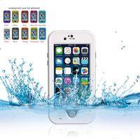 iphone yüzme davası toptan satış-Yeni Redpepper darbeye Toza Su Geçirmez kılıf yüzme sörf kılıfı iphone 6 artı 5.5 perakende kutusu ile Hızlı kargo