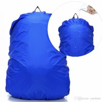 Wholesale Outdoor Backpack 45l - DHL 45L Rain Cover Outdoor Waterproof Backpack Protective Cover Case Camping Hiking Climbing Cycling Travel Accessories Bag Covers