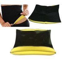 Wholesale Neoprene Waist Support - Wholesale- 2017 New Women Slimming Waist Belts Neoprene Corsets Cincher Trainer Promote Sweat Bodysuit Fitness Slim Belt ZM14