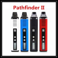 Оригинальный режим управления Temp TC Pathfinder II Vaporizer Pen Kit 2200mAH с ЖК-экраном против Titan 2 Snoop Dogg Herbal Vape Pen