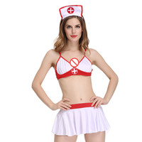 Wholesale lingerie game sex - Hot 2017 Sexy Nurse Cosplay Erotic Costumes Women Role Play Lingerie Female Sexy Underwear Sex Uniform Games Clothes Sexual Wear