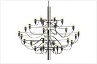 Wholesale Italian Pendant Lighting - Modern Ceiling Light Pendant Lamp Italian Design Gino Pendant Lighting E14 30 Bulbs 50 Bulbs Chandelier Lighting in Gold Mod 2097
