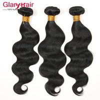 Wholesale free brazilian weave resale online - 8A Grade Hot Sale Brazilian Remy Hair Weave Bundles Dyeable Peruvian body Wave Hair Extensions Malaysian Human Hair Weaves B