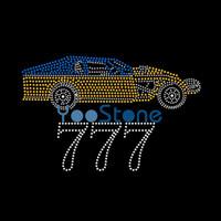 ingrosso disegni hot fix-I Love My Car Rhinestone Iron On Transfers Disegni Motif Hot Fix