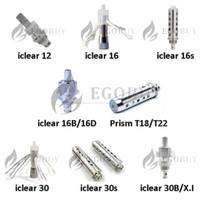 innokin 16b doppelspule großhandel-100% Geniune Innokin Serie Doppelspulen iclear 12 16 16s 16b 16d 30 30s 30B / X.I Prisma T22 T18 iclear10 Spule für iclear Zerstäuber