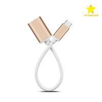 Wholesale Macbook Retail Wholesale - 15CM USB3.0 Type C OTG Data Cable Transfer Charger Adapter Male to Female for Macbook Letv with Retail Package