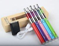 Wholesale Ego Twist Kit Box - eCigarette UGO Twist Battery Mini Protank I III Vaporizer Starter Kit Vape eGo EVOD Twist Variable Voltage Gift Box