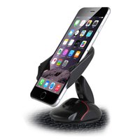 Wholesale hand mobile phone holder - New Coming Universal Windshield Suction Car Phone Holder One Hand Mobile Phone Car Holder Free DHL