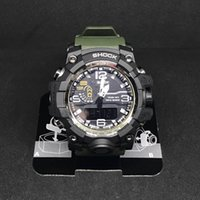 Wholesale Military Watches G Shock - High Quality GWG Watch 1000 Men Sports Watch Waterproof Japan Movement Military G Style Shock Watches Men's Luxury Brand Relogio Masculino