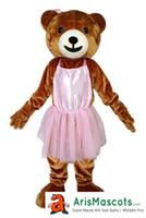 "Wholesale Mascotte Teddy Bear - 100% real Photos Lovely ""Smile Girl Teddy Bear"" mascot costume, Animal mascots, Customized mascotte, mascota"
