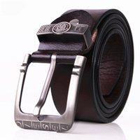 Wholesale Casual Jeans For Male - designer belts men high quality genuine leather belt man fashion strap male cowhide belts for men jeans