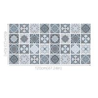 Wholesale Rectangle Tile - Geometric Imitation Tiles Rectangle Floor Sticker Kitchen Antifouling Anti-skid Wearable PVC Mats 2017 Fashion DIY Home Decoration Stickers