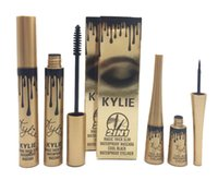 Wholesale Color Quick - kylie jenner 2 in 1 mascara set eyeliner birthday edition Black color dhl ship