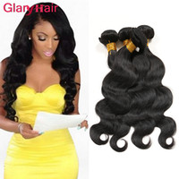 Wholesale Discount Remy Hair Bundles - Wholesale Big Discount Cheap Brazilian Human Hair Bundles Malaysian Indian Mongolian Peruvian Body Wave Hair Weaves Dyeable Hair Extensions