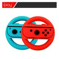 Wholesale Game Steering - 2pcs a set Joy-Con Wheel For Nintendo Switch controller Steering Wheel Mario Kart Game Grip Accessories