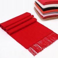 Wholesale Scarf Ring For Men - Fashion Fringed Cashmere scarfs Plaid Scarf Imitation Pashmina Cashmere Scarves for Men Women Designer scarf brands Free shipping TA71-1