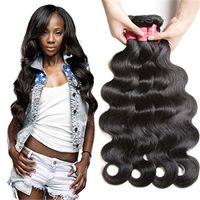 Wholesale Princess Human Hair Weave - Beautiful princess Brazilian Body Wave Bundles Remy Hair Natural Color Human Hair Weaving