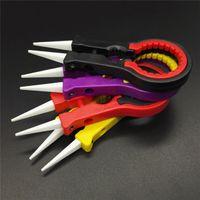 Wholesale V8 Tools - Newest Vaper Twizer V8 ecig accessories vapor tweezer DIY tool Ceramic Tweezers handle vapor tweezers vape twizer for rda rba