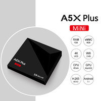 Android 7.1 TV Box A5X plus RK3328 Quad Core 64 bits 1GB 8GB USB 3.0 4K VP9 Media Player Boxes