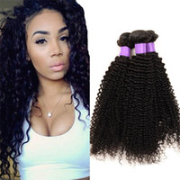 Wholesale Curly Kinky Hair Beautiful - 2017 newest and high quality Peruvian kinky curly virgin hair human hair extension beautiful virgin hair