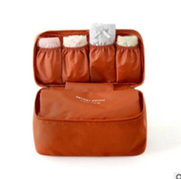 Wholesale Travel Fold Up Bags - cosmetic bag korean makeup organizer underwear bra makeup make up cosmetic bags storage bags travel bags handbags