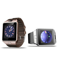 Wholesale Mp3 Phone Waterproof Watch - DZ09 smart watch for Apple android phone smart watch with camera Anti-lost support SIM TF card MP3