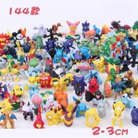 Wholesale 2017 Hot Sale Figures Toys cm Pikachu Charizard Eevee Bulbasaur Suicune PVC Mini Model Toys For Children