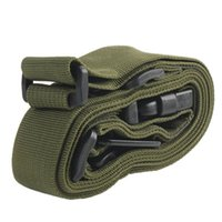 Wholesale bungee sling airsoft online - Brand High quality Three Point Rifle Sling Adjustable Bungee Tactical Airsoft Gun Strap Paintball Gun Sling lt no tracking