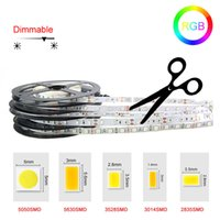 Wholesale Tiras Led Neon - SMD Fita Led string Ribbon tape Bar Neon tiras led striscia led RGB strip Lamp