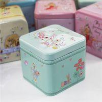 Wholesale Chocolate Candy Wholesale Prices - Tale Series Mac Make Up Organizer 3Piece Lot Square Tin Box Beauty Mac Lipstick Box Metal Tea Chocolate Sundries Box Cheap Price