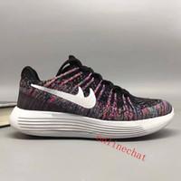 Wholesale Knit Fabrics Cheap - Wholesale Cheap Unisex LunarEpic Low Knit 2 Sneakers Mens Women Running Shoes Sale Online Size EUR 36-45 Free Shipping