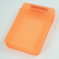 Wholesale Hard Drive Storage Protection - Wholesale- 3.5 Inch Orange IDE SATA HDD Hard Disk Drive Protection Storage Box Case