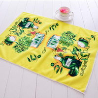 Wholesale Disposable Microfiber Face Towels - CUSTOM team towels tea hot color printed on whole towel cloth any LOGO size pattern Microfiber GSM 200-600 DHL FEDEX More order discount