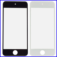 ecrans de verre avant de remplacement d'iphone blanc achat en gros de-50 pcs / lot Lentille En Verre Écran Externe pour iPod Touch 4 5 Noir Blanc Avant Verre Externe Lentille En Verre Remplacement pour iTouch 4ème 5ème
