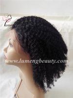 tam dantelli peruk kıvırcık toptan satış-100% insan saçı tam dantel kadın peruk afro kıvırmak saç peruk