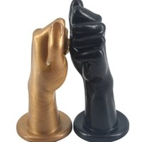 Wholesale Hand Anal Toys - Adult Fist Sex Huge Realistic Hand Anal Plug Suction Cup Butt Plug Anal Sex Toys for Men Women Erotic Adult Sex Toys H8-2-6